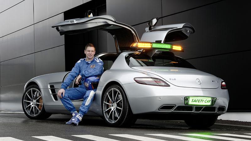 Mercedes-Benz SLS AMG F1 Safety Car pro sezónu 2010: - fotka 10