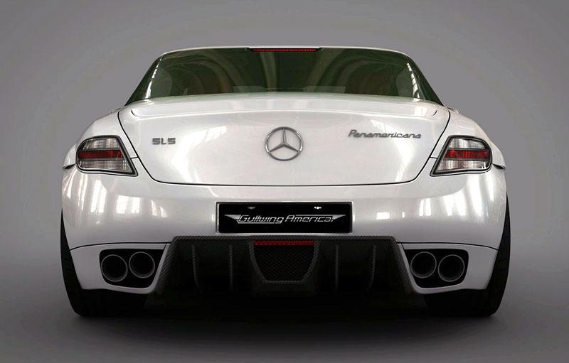 Mercedes-Benz SLS AMG Panamericana: převlek od Gullwing-America: - fotka 6