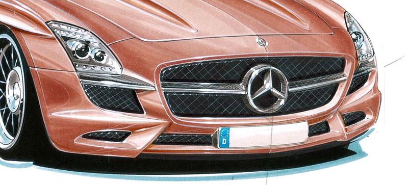 Lorinser chystá tuning pro Mercedes SLS AMG: - fotka 3
