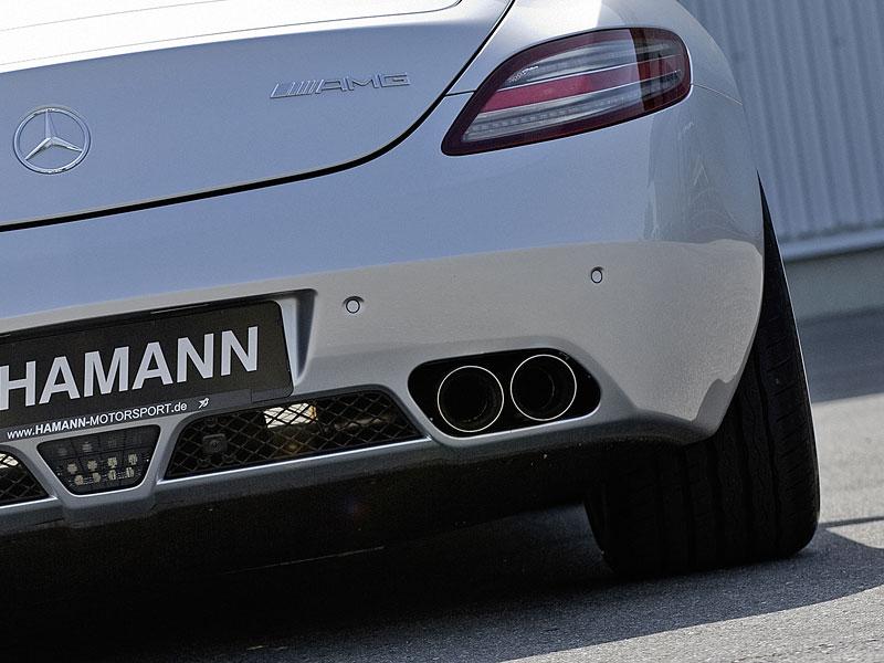 Mercedes-Benz SLS AMG: první doplňky od Hamann Motorsport: - fotka 12