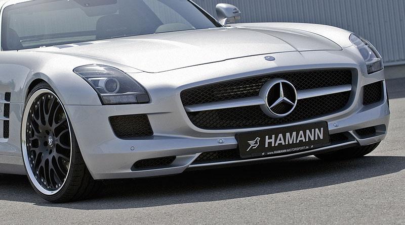 Mercedes-Benz SLS AMG: první doplňky od Hamann Motorsport: - fotka 13