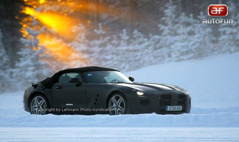 Spy Photos: Mercedes-Benz SLS Cabrio: - fotka 1