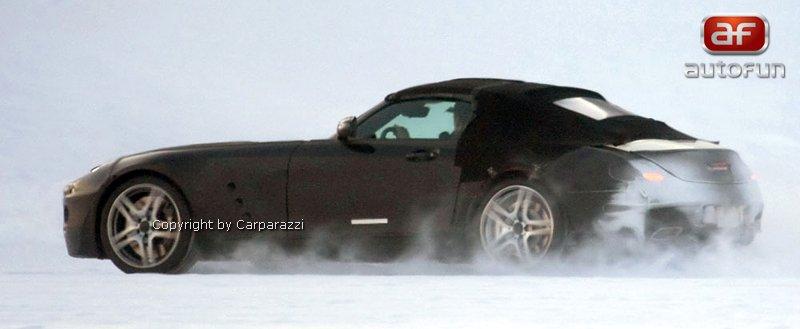 Spy Photos: Mercedes-Benz SLS Cabrio: - fotka 4
