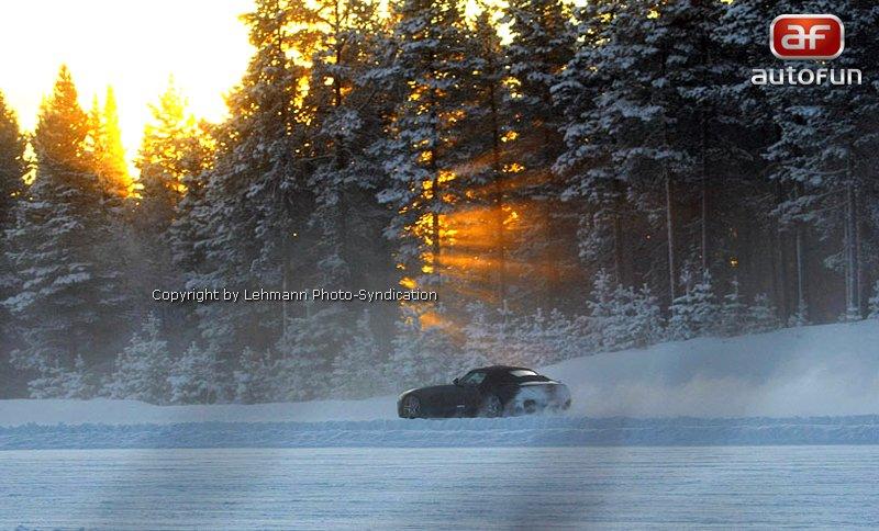 Spy Photos: Mercedes-Benz SLS Cabrio: - fotka 7