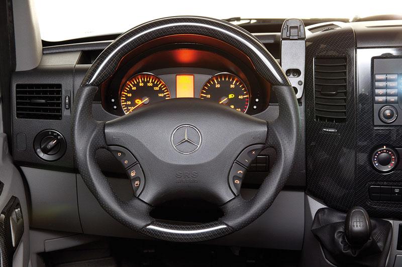 Hartmann Mercedes-Benz Sprinter SP5: i dodávka může vypadat luxusně: - fotka 2