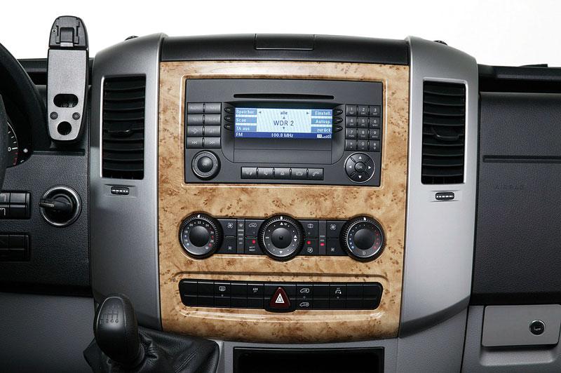 Hartmann Mercedes-Benz Sprinter SP5: i dodávka může vypadat luxusně: - fotka 4