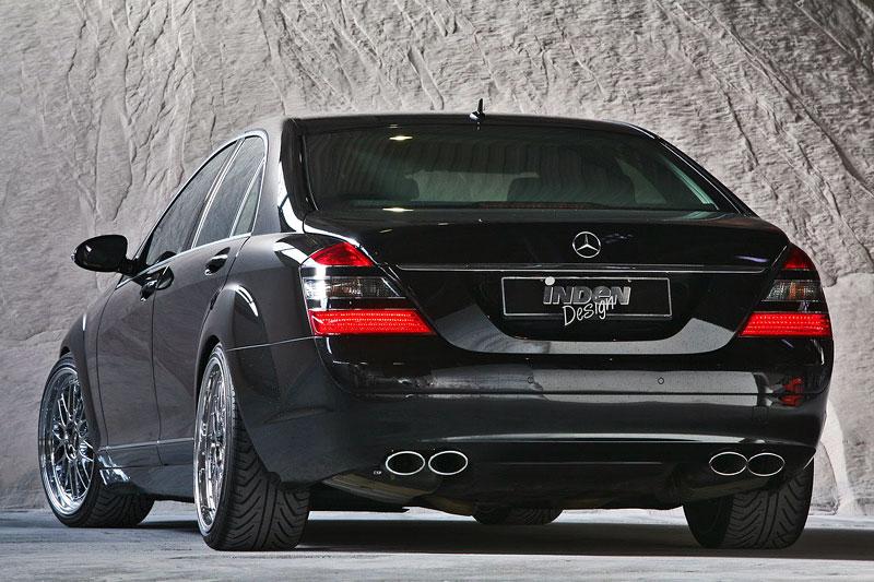Mercedes-Benz S500 4MATIC po kúře od firmy Inden-Design: - fotka 5