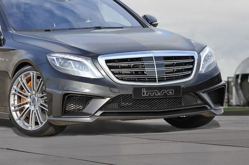 Mercedes-Benz S 63 AMG od IMSA: Diskrétní silák: - fotka 5