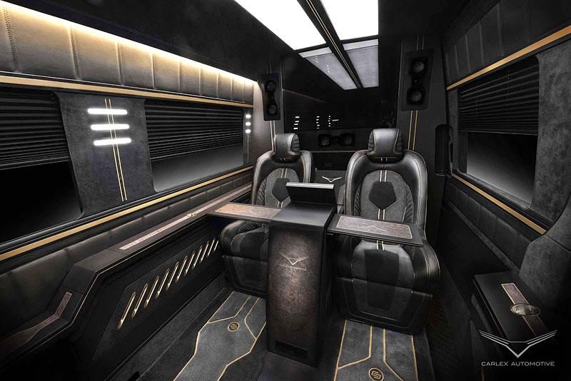 Carlex Automotive Business Van: Sprinter hyperluxusním přepravníkem: - fotka 1