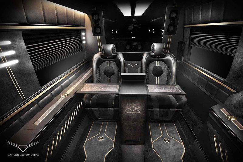 Carlex Automotive Business Van: Sprinter hyperluxusním přepravníkem: - fotka 3