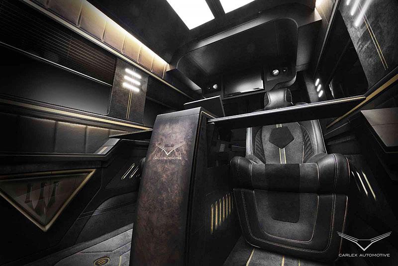 Carlex Automotive Business Van: Sprinter hyperluxusním přepravníkem: - fotka 5