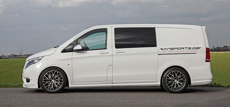 Hartmann VP Spirit aneb Mercedes-Benz Vito jako sportovec: - fotka 12