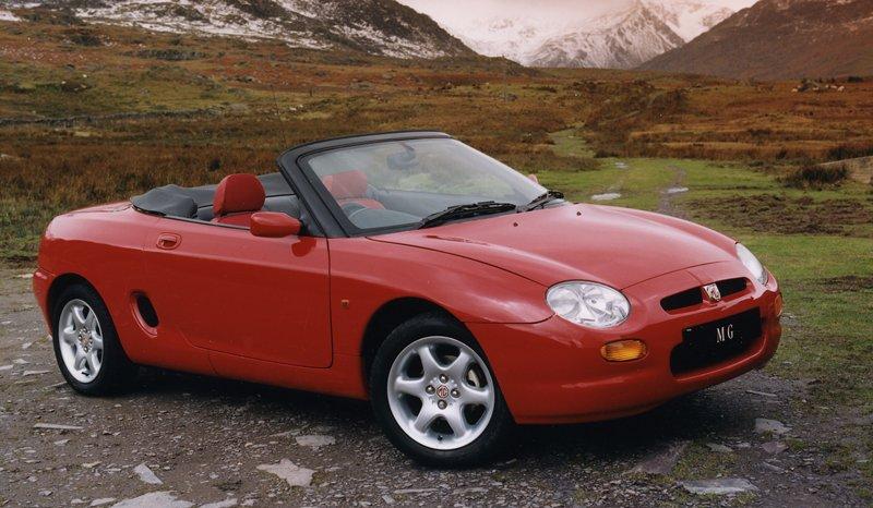 Roadster MG F/TF bude mít nástupce: - fotka 9