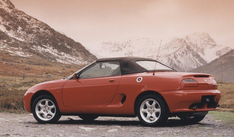 Roadster MG F/TF bude mít nástupce: - fotka 16