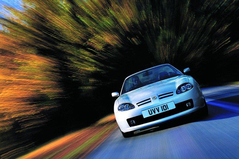 Roadster MG F/TF bude mít nástupce: - fotka 21