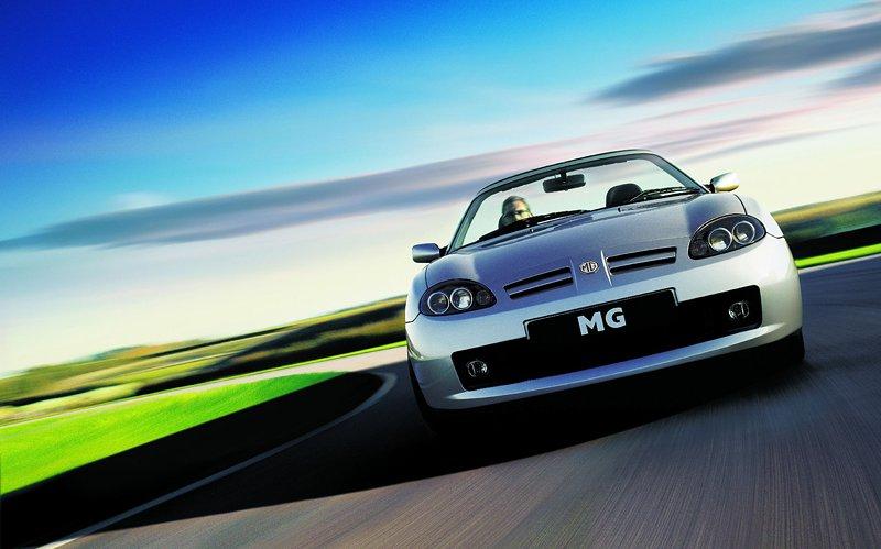 Roadster MG F/TF bude mít nástupce: - fotka 22