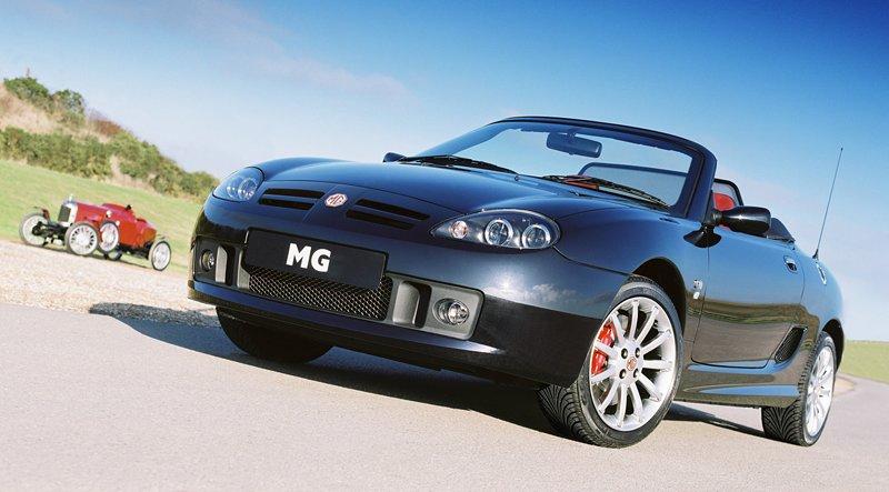Roadster MG F/TF bude mít nástupce: - fotka 23