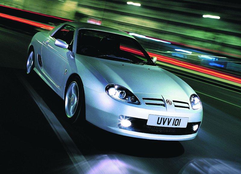 Roadster MG F/TF bude mít nástupce: - fotka 26