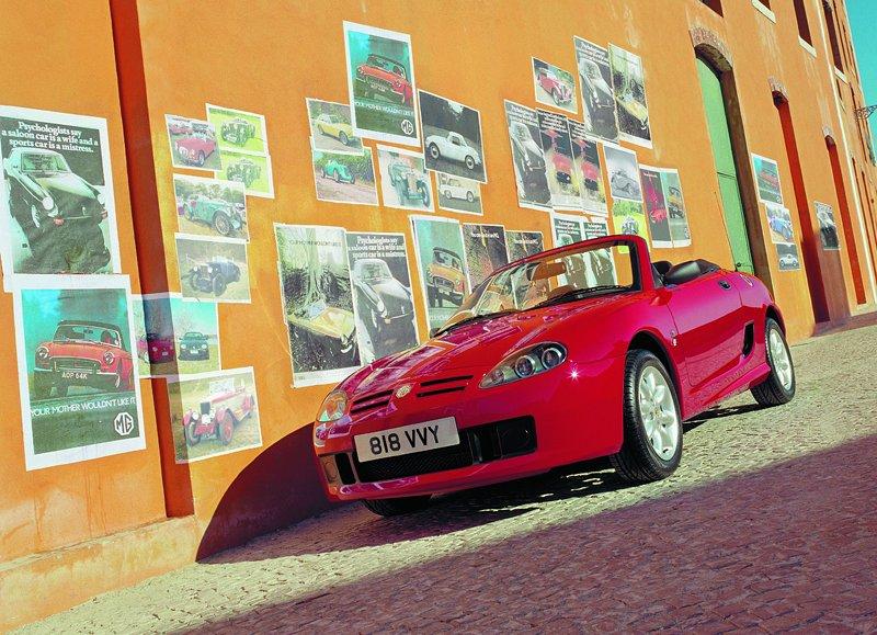 Roadster MG F/TF bude mít nástupce: - fotka 27