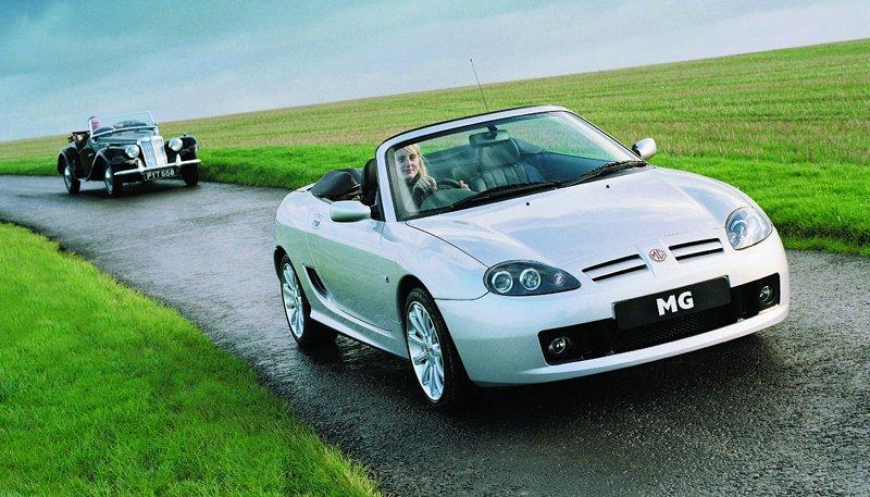 Roadster MG F/TF bude mít nástupce: - fotka 28