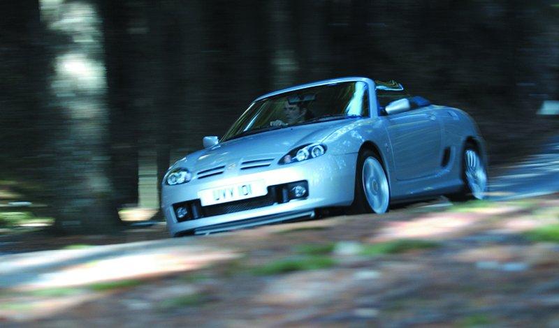 Roadster MG F/TF bude mít nástupce: - fotka 32