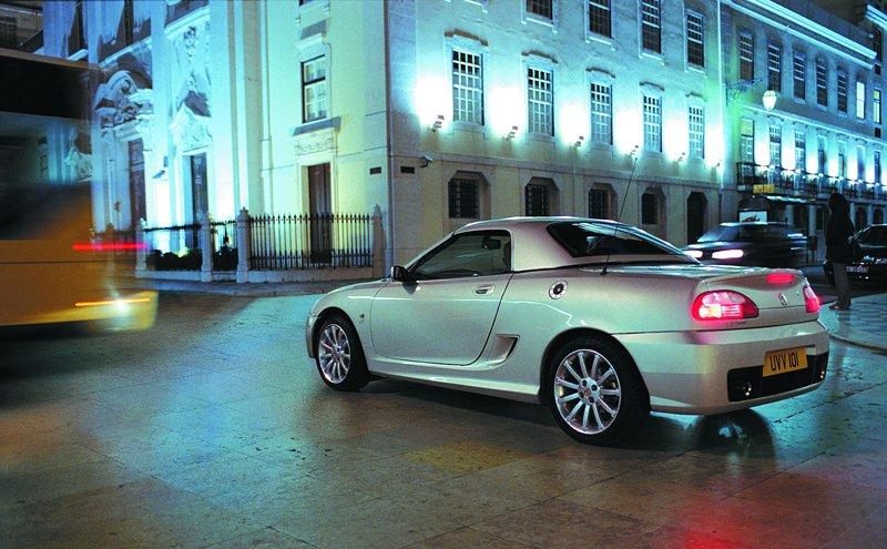 Roadster MG F/TF bude mít nástupce: - fotka 36