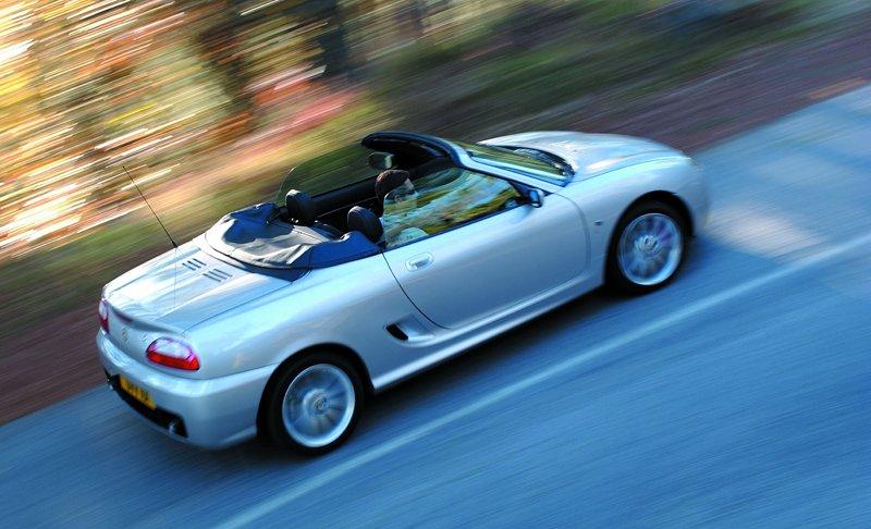 Roadster MG F/TF bude mít nástupce: - fotka 37