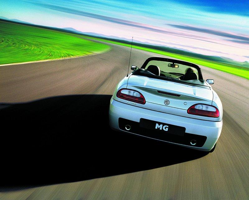 Roadster MG F/TF bude mít nástupce: - fotka 38