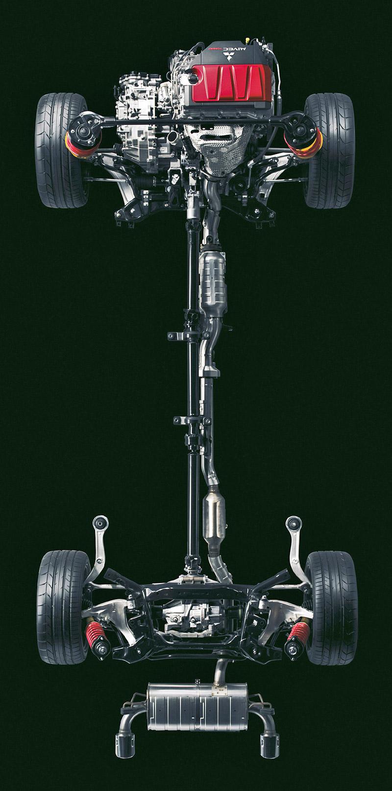 Za volantem: Mitsubishi Lancer Evolution TC-SST: - fotka 37