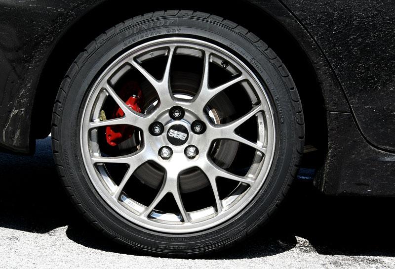 Za volantem: Mitsubishi Lancer Evolution TC-SST: - fotka 38