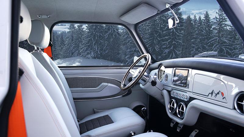 Teď můžete mít klasické Mini jako nové auto. Je ale absurdně drahé: - fotka 4