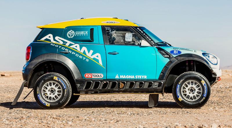Mini vyrazí na Dakar 2015 s osmičkou aut: - fotka 2