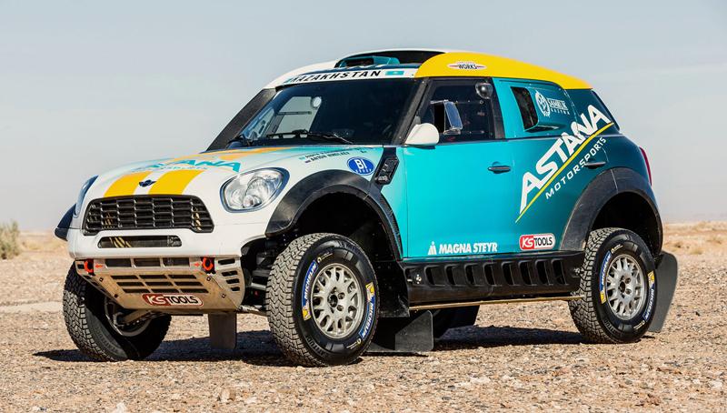 Mini vyrazí na Dakar 2015 s osmičkou aut: - fotka 3