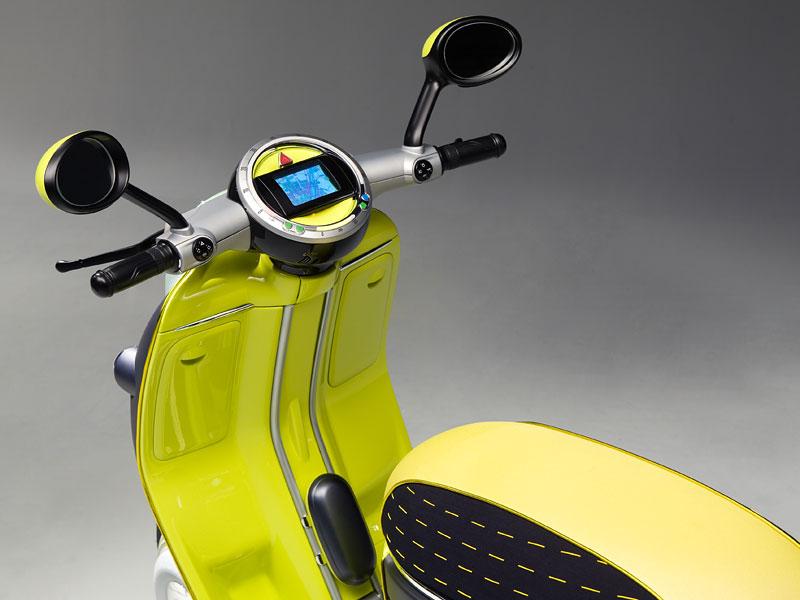 MINI Scooter E: Jednostopý koncept pro Paříž: - fotka 3