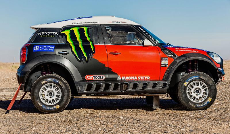 Mini vyrazí na Dakar 2015 s osmičkou aut: - fotka 5