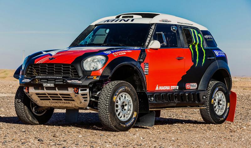 Mini vyrazí na Dakar 2015 s osmičkou aut: - fotka 6