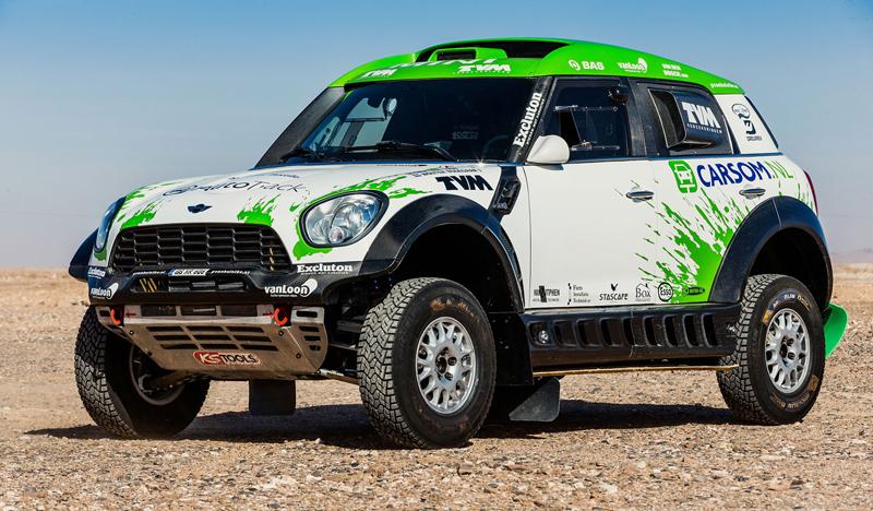 Mini vyrazí na Dakar 2015 s osmičkou aut: - fotka 8