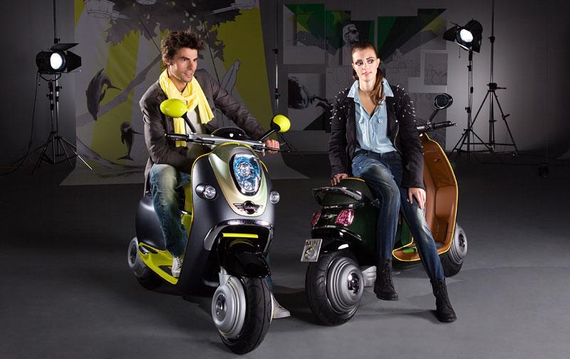 MINI Scooter E: Jednostopý koncept pro Paříž: - fotka 4