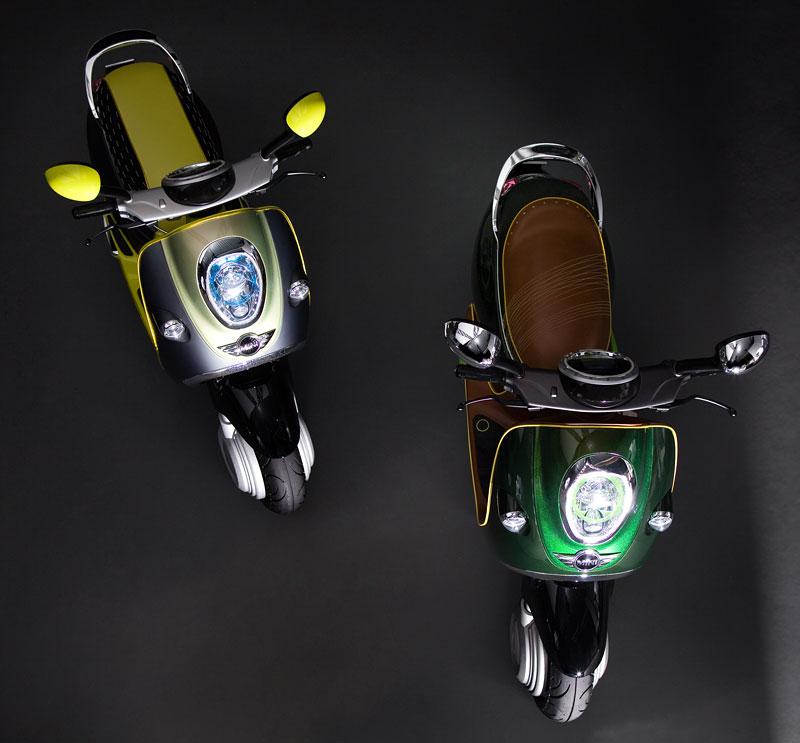 MINI Scooter E: Jednostopý koncept pro Paříž: - fotka 5