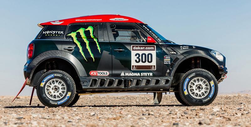 Mini vyrazí na Dakar 2015 s osmičkou aut: - fotka 11