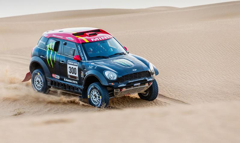 Mini vyrazí na Dakar 2015 s osmičkou aut: - fotka 14