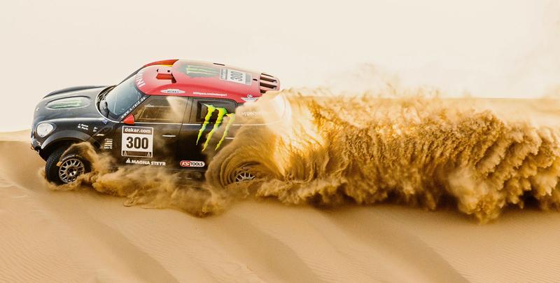 Mini vyrazí na Dakar 2015 s osmičkou aut: - fotka 18