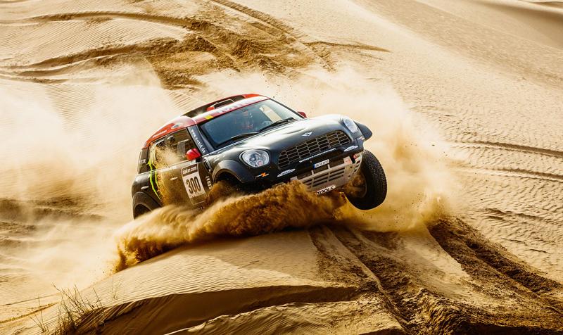 Mini vyrazí na Dakar 2015 s osmičkou aut: - fotka 20