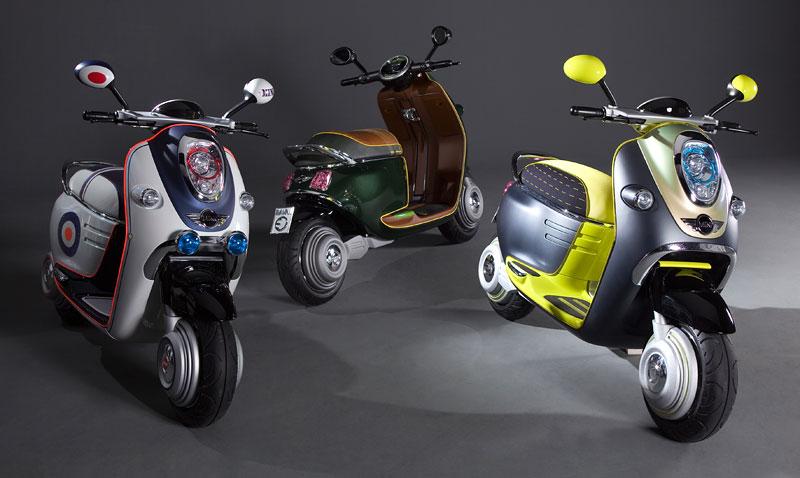 MINI Scooter E: Jednostopý koncept pro Paříž: - fotka 9