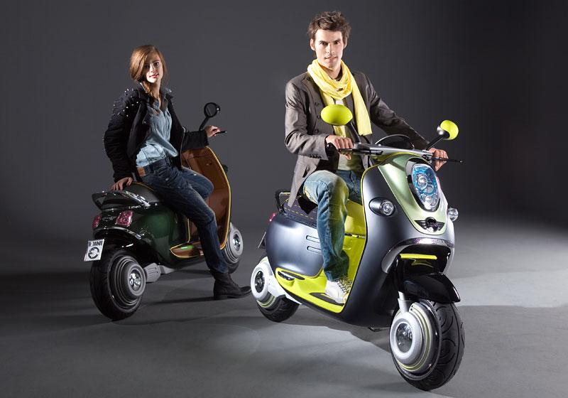 MINI Scooter E: Jednostopý koncept pro Paříž: - fotka 10