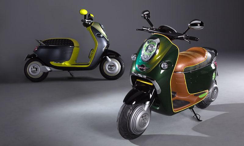 MINI Scooter E: Jednostopý koncept pro Paříž: - fotka 11