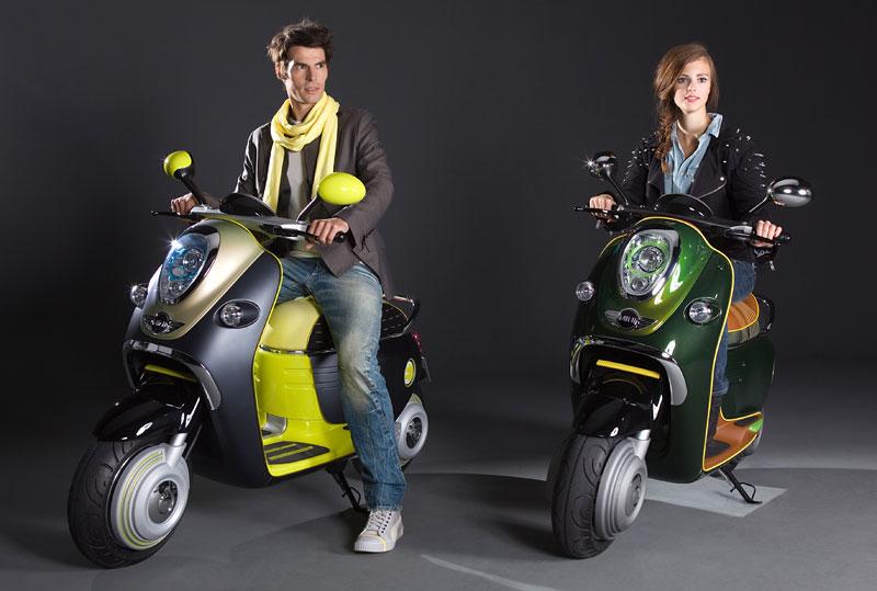 MINI Scooter E: Jednostopý koncept pro Paříž: - fotka 12