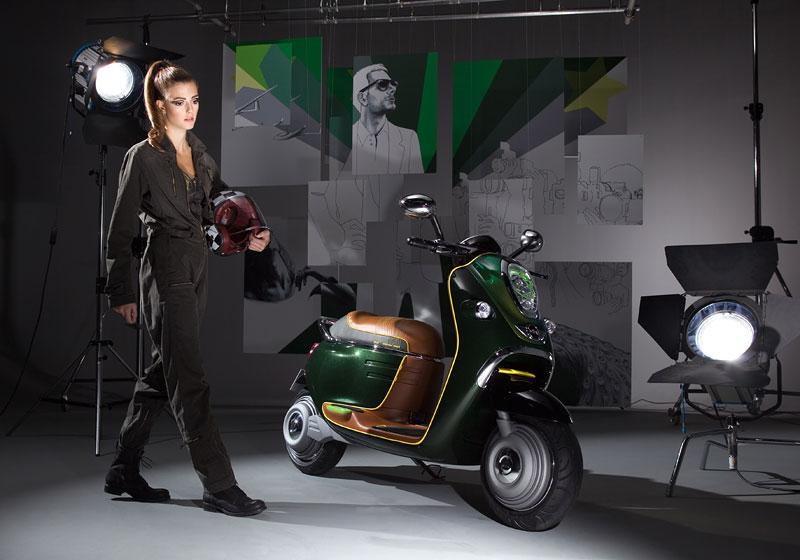 MINI Scooter E: Jednostopý koncept pro Paříž: - fotka 8