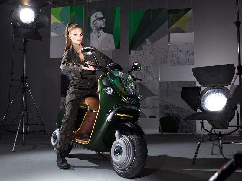 MINI Scooter E: Jednostopý koncept pro Paříž: - fotka 13