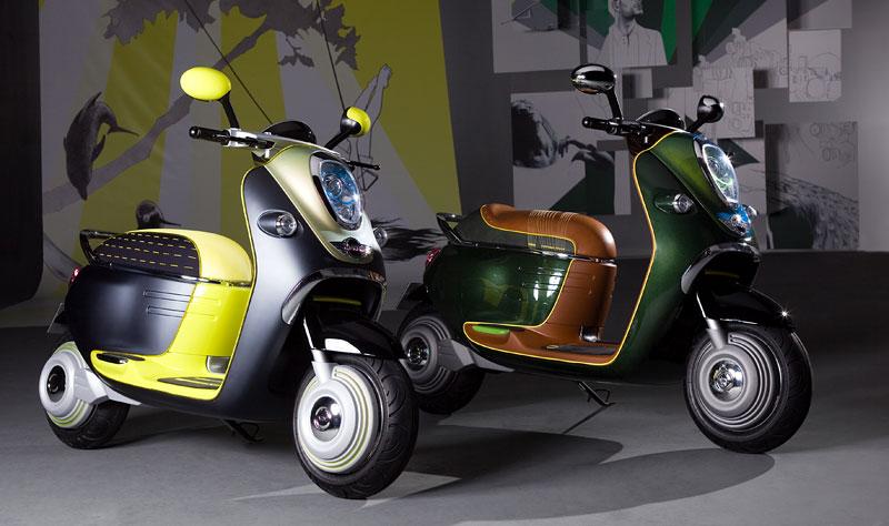 MINI Scooter E: Jednostopý koncept pro Paříž: - fotka 15